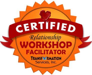 Badge for Relationship coach certification and workshop facilitator